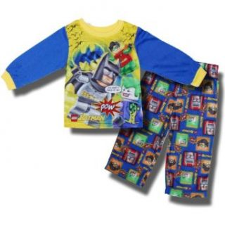 Lego Batman & Friends 2 piece Pajamas for Toddler Boys