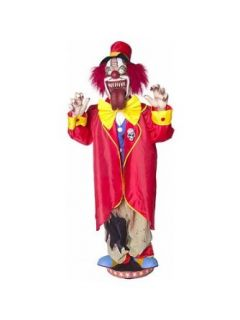 Animated Walking Clown with Audio Clothing