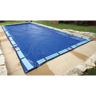 Swim Time Rectangle Winter Pool Cover (16 x 36)