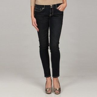 Seven7 Womens Skinny 2 button Denim Jeans