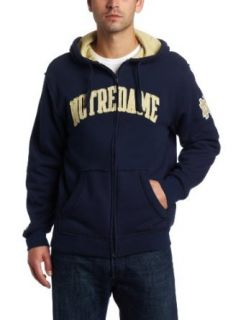 NCAA Mens Notre Dame Fighting Irish Gametime Full Zip