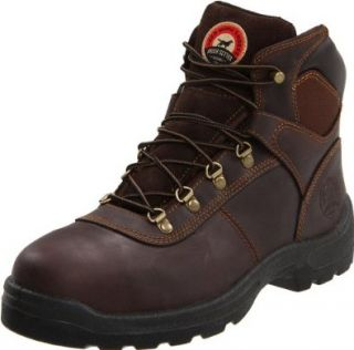 Irish Setter Mens 6 Steel Toe Work Boot Shoes