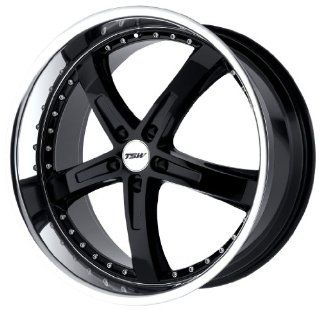 TSW Alloy Wheels Jarama Gloss Black Wheel with Machined Lip (20x8.5