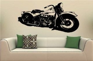 Wall MURAL Vinyl Decal Sticker 1940 Harley Davidson S