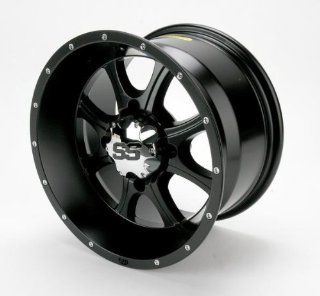 137_12mm ITP SS108 Alloy Series Wheel 14x8 5.0 + 3.0 Black KAWASAKI
