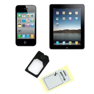 Micro SIM to SIM Card Adapter