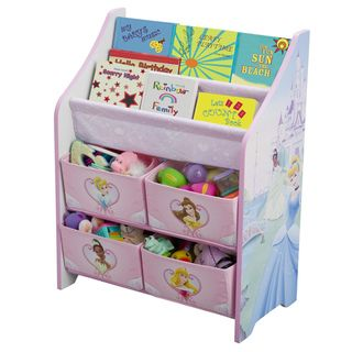 Disney Princess Book and Toy Organizer