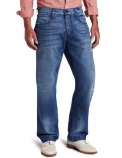 Hudson Mens Wilde Relax Straight Leg Jean Clothing