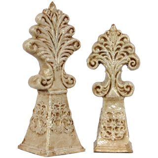 Urban Trends Collection Antique White Ceramic Deco (Set of 2) Today $