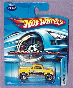 com Hot Wheels Yellow HUMMER H3T CONCEPT Die Cast #173 Toys & Games