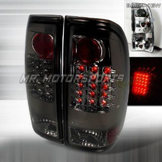 FORD F150 STYLESIDE LED TAIL LIGHTS SMOKE    Automotive