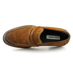 Steve Madden Mens Blaike Regular Suede Casual Shoes