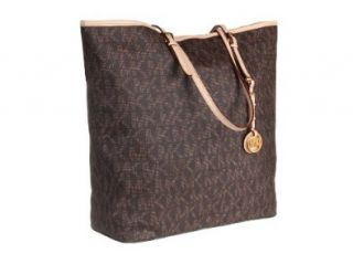 MICHAEL Michael Kors Jet Set Travel Tote BROWN Shoes