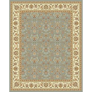 Safavieh Lyndhurst Floral Light Blue/ Ivory Rug (11 x 15