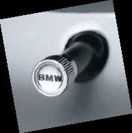 BMW Genuine Factory OEM 36110421542 Valve Stem Caps BMW Lettering (set