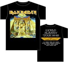 Iron Maiden   Powerslave T Shirt, XL Clothing