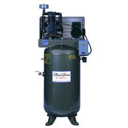 BelAire 318VL 7.5 HP 80 Gallon 1 Phase Vertical 2 Stage Air Compressor