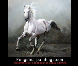 Painting Horse, Abstract Art Painting, Art on Canvas Oil