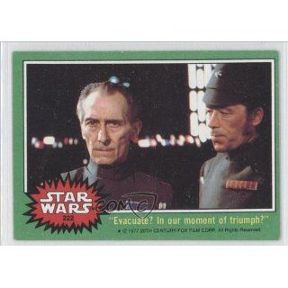 moment of triumph (Trading Card) 1977 Star Wars #222