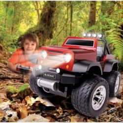 Blue Hat Remote controlled Off road Safari Truck with LED Lights