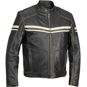 River Road Hoodlum Vintage Leather Jacket   40/Black