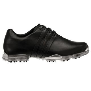 Adidas Mens adiPURE Black/ Black/ Siliver Golf Shoes