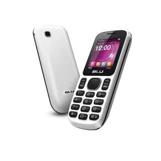 BLU Jenny T172 GSM Unlocked Dual SIM Cell Phone   White