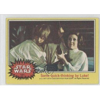 thinking by Luke (Trading Card) 1977 Star Wars #141